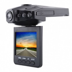 Camera video auto cu inregistrare HD, Infrarosu, DVR si Display 2,5 Inch